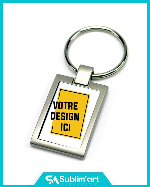 Porte clé personnalisé en métal